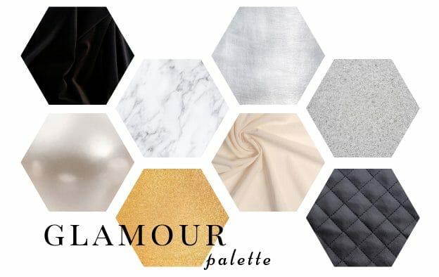 paleta kolorów stylu glamour. jakich kolorów używa styl glamour