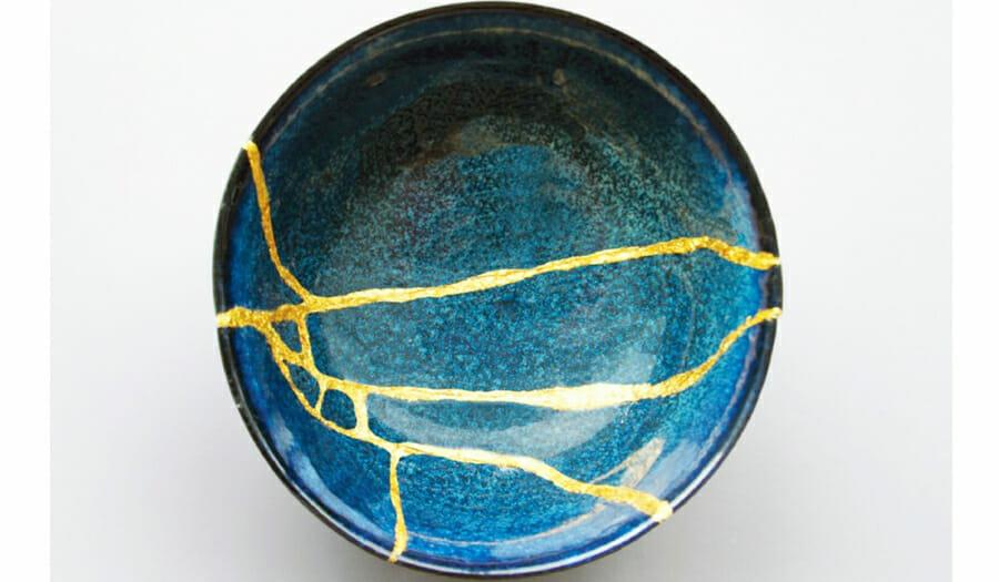 ceramika styl wabi-sabi kintsugi