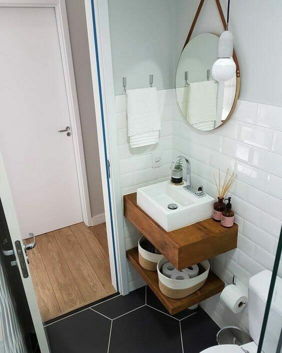 Jak urządzić nowoczesną biało-czarną łazienkę