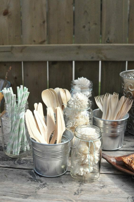 drewniane sztućce ekologiczne rozwiązania w domu