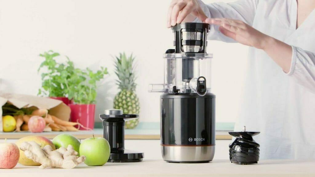 Bosch MESM500W sok owoce warzywa imbir jabłka