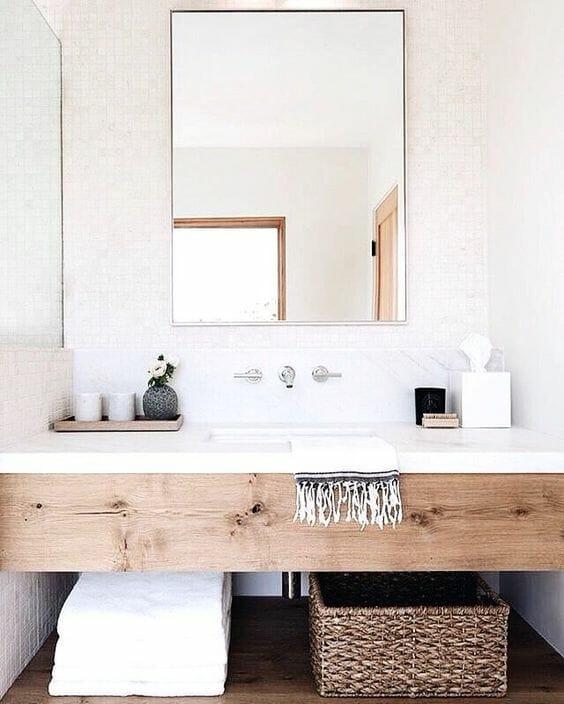 jasna łazienka nowoczesna aranżacje