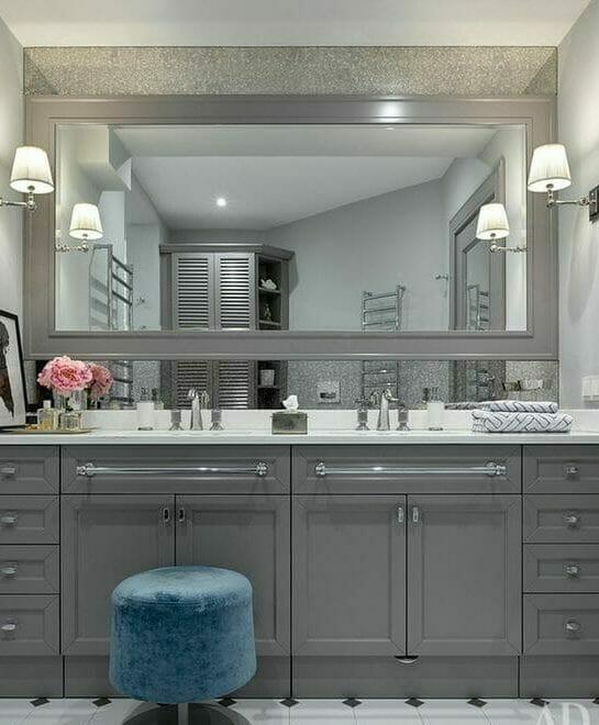 łazienka W Stylu Glamour Poradnik Dla Zielonych Homelook