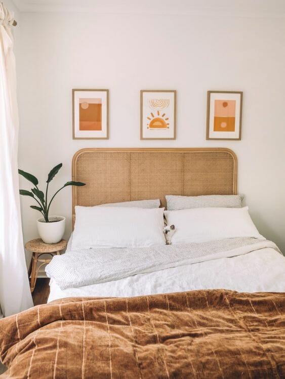 aranżacje sypialni w beżu