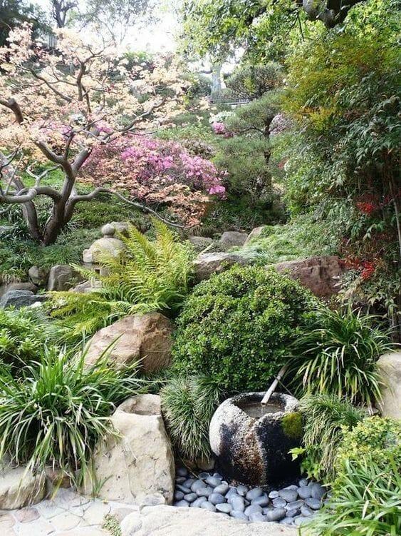 Aranżacje ogrodów japońskich