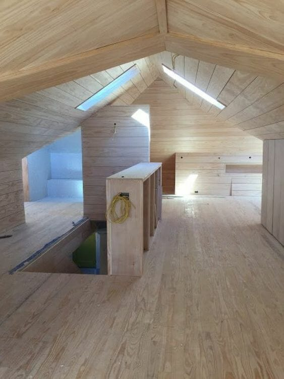 adaptacja poddasza remont strychu
