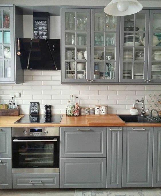 Kuchnia W Stylu Prowansalskim W Bloku Q Housepl