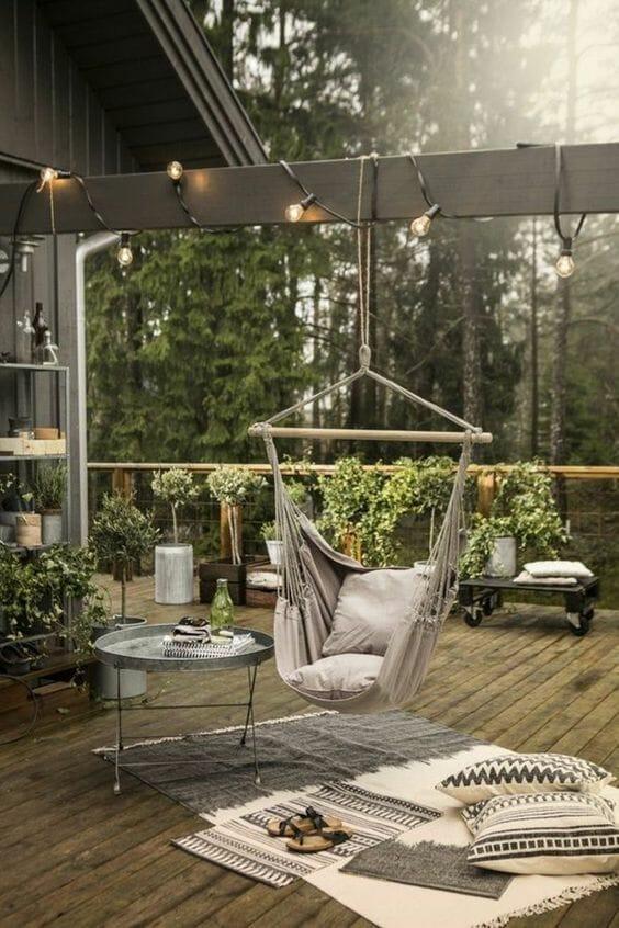 krzesło brazylijskie do ogrodu