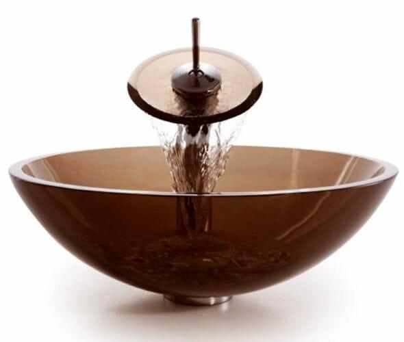 rea bowl szklana umywalka