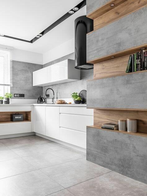 betonowa kuchnia
