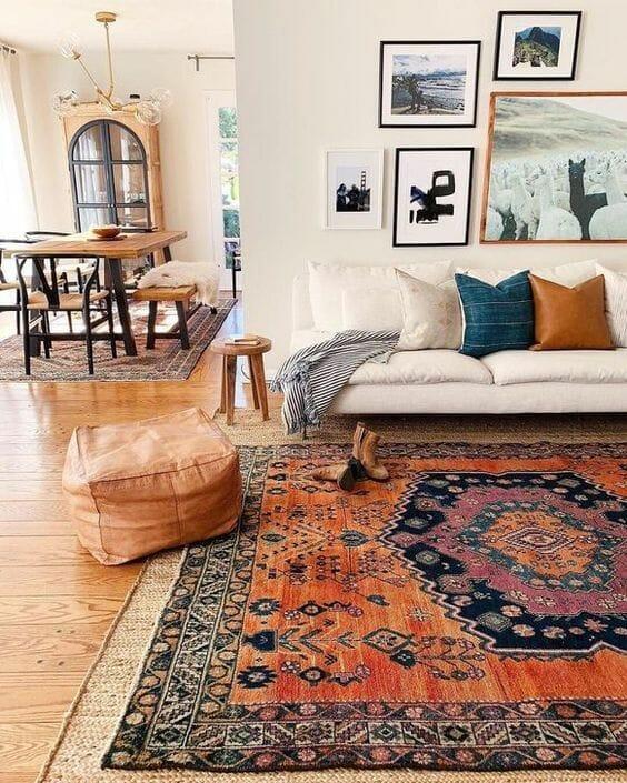 dywan styl marokański