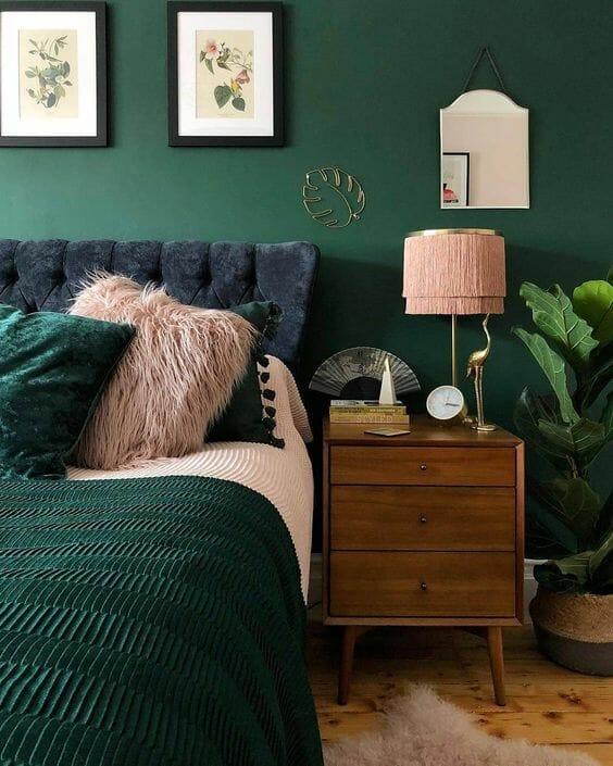Modne kolory ścian do sypialni