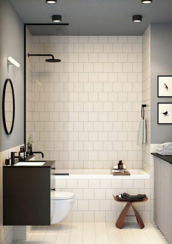 aranżacja małej łazienki