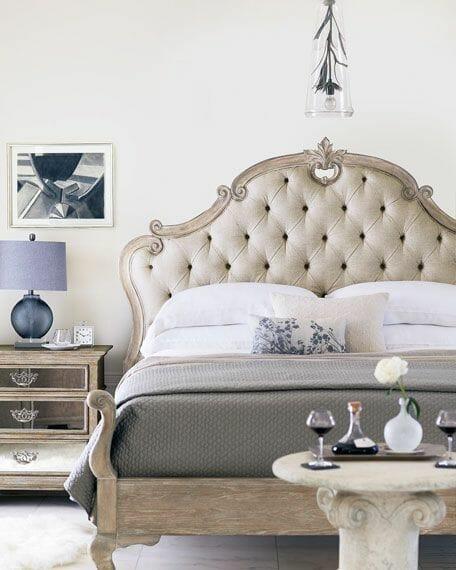 styl gustawiański sypialnia