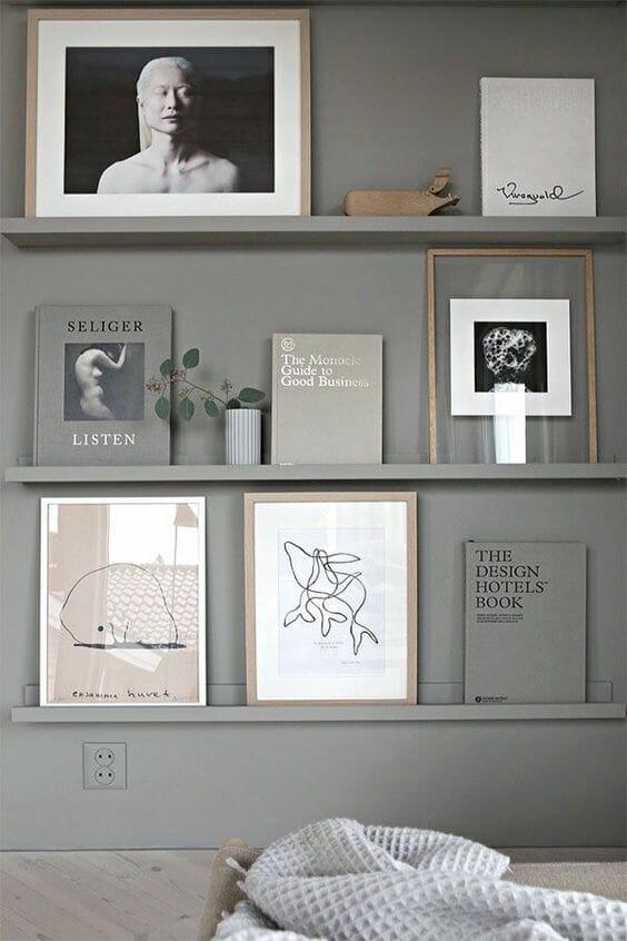 jak ustawić zdjęcia na ścianie
