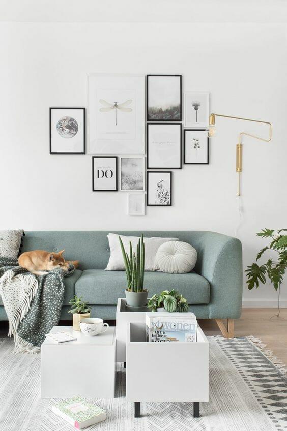 jak zawiesić zdjęcia na ścianie