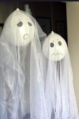 straszne ozdoby na impreze Halloween