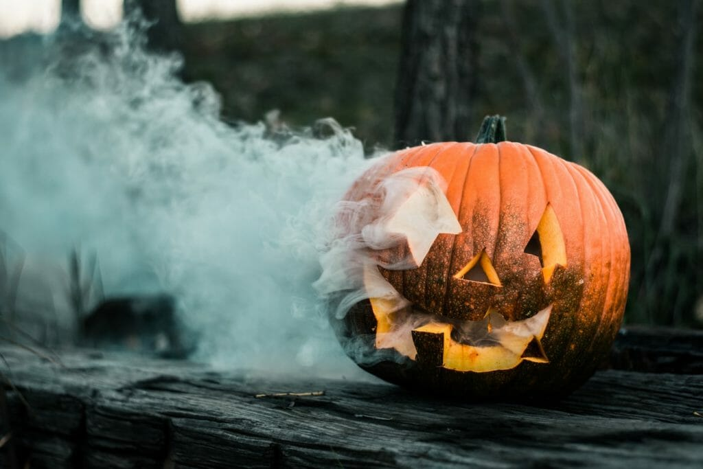 Ozdoby na Halloween - DIY dynia