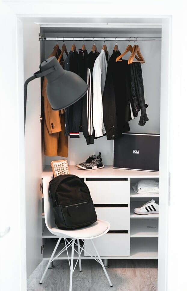 jak zaaranżować szafę
