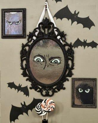 ozdoby na halloween do domu nietoperze