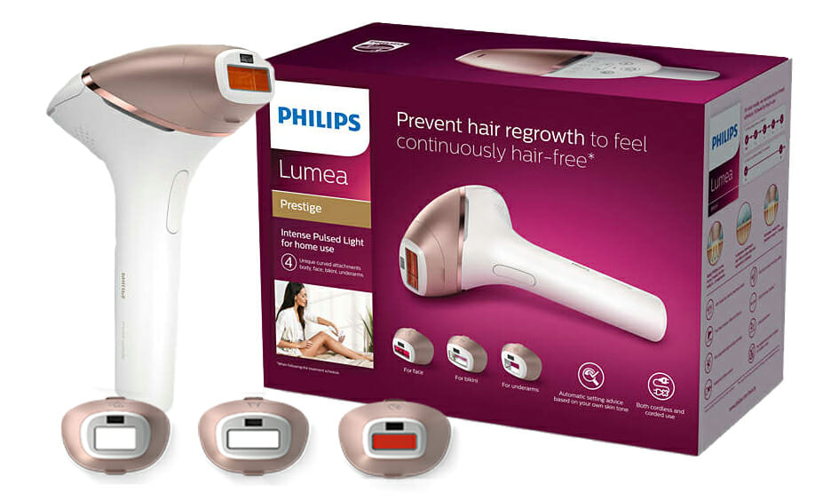 depilator laserowy philips