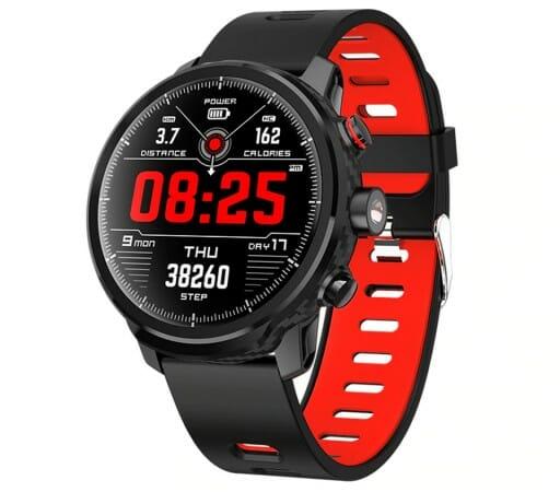 zegarek z pulsometrem exon ip68