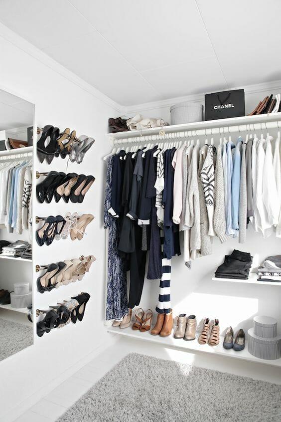 garderoba - gdzie trzymać buty