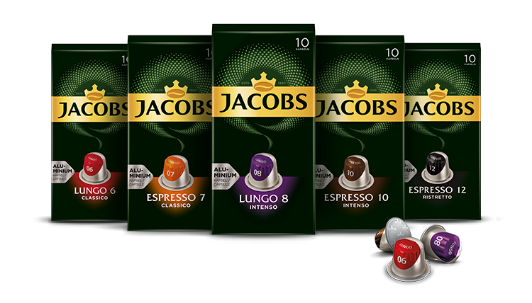 Kapsułki do ekspresu jacobs nespresso