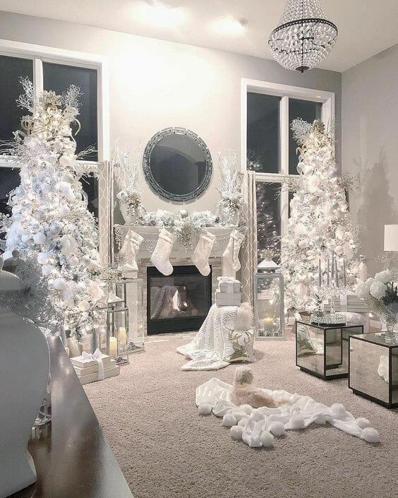 Ozdoby świąteczne glamour
