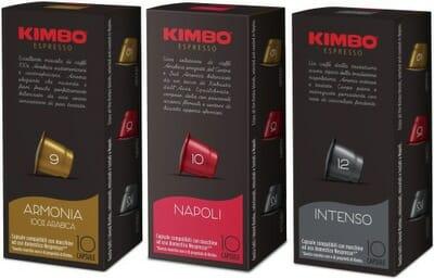 kawa w kapsułkach kimbo