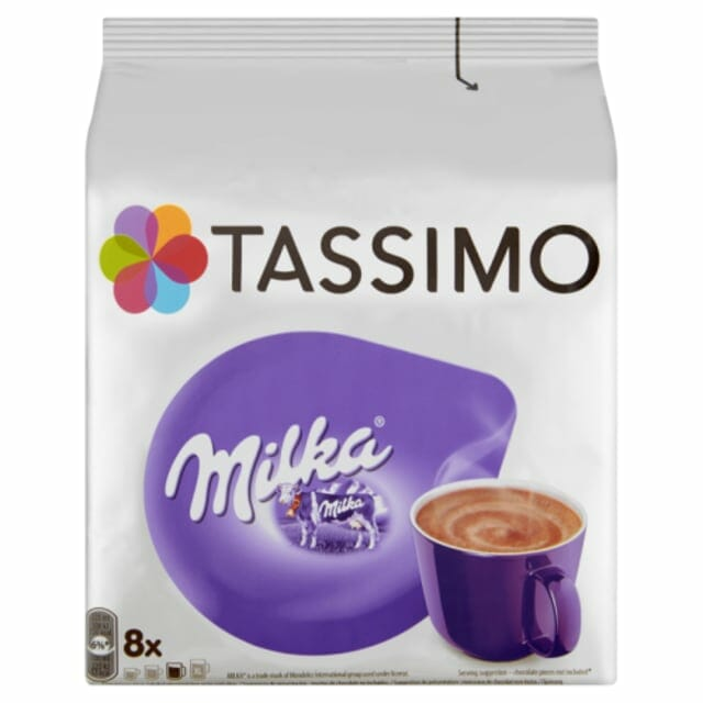 kawa mleczna milka tassimo