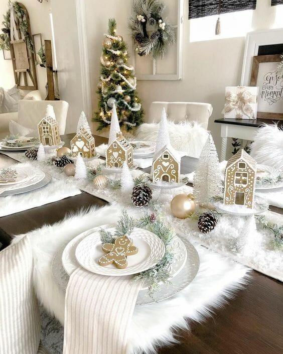 dekoracje świąteczne na stół