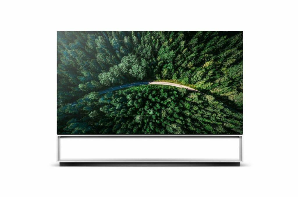 telewizor 8k LG OLED88z9
