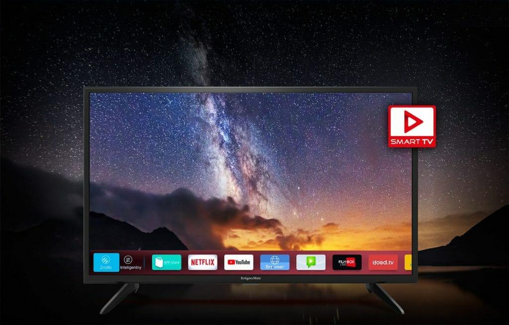 Telewizor 43 cale Kruger&Matz KM0243FHD-S3 Smart TV
