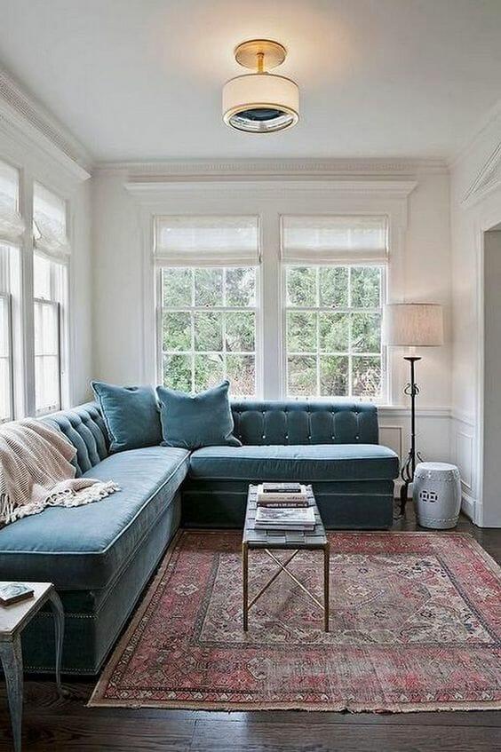 retro Nowoczesne dywany do salonu