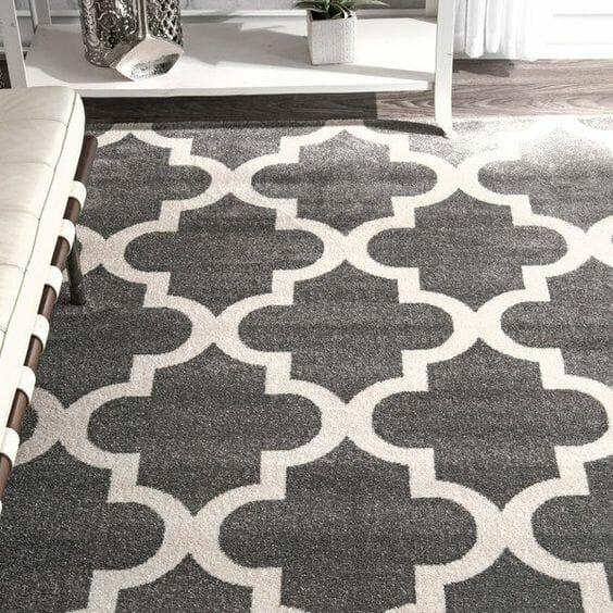 Nowoczesne dywany do salonu marokanski