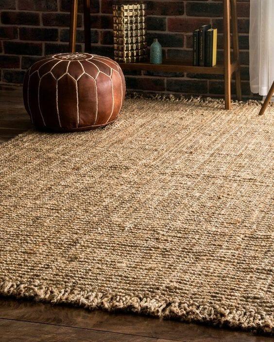 Nowoczesne dywany do salonu juta