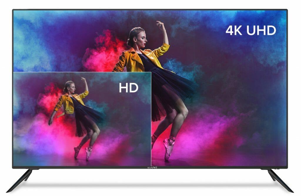 Telewizor Kiano SlimTV 50 cali 4K FrameLess