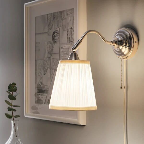 Lampa ścienna IKEA ARSTID