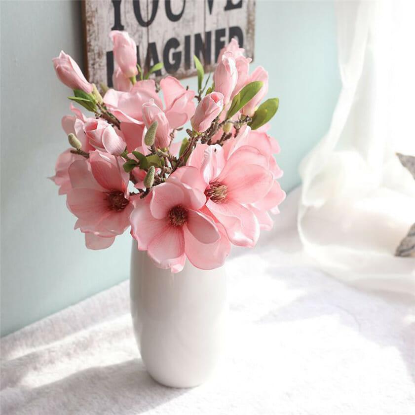 wiosenne dekoracje stołu