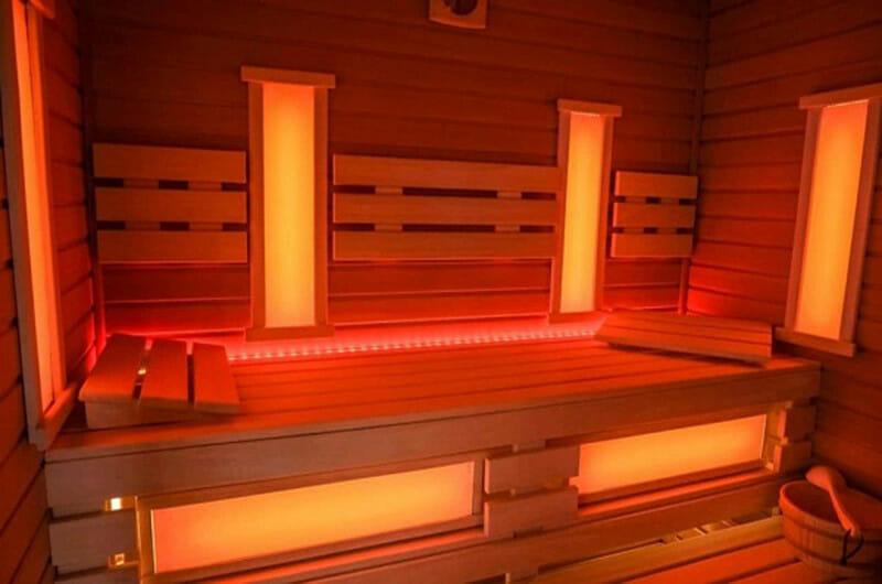 infrared sauna do domu na podczerwień