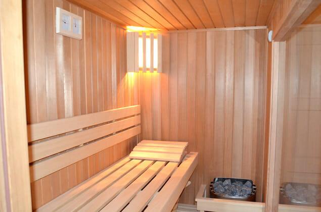 drewniana sauna sucha do domu