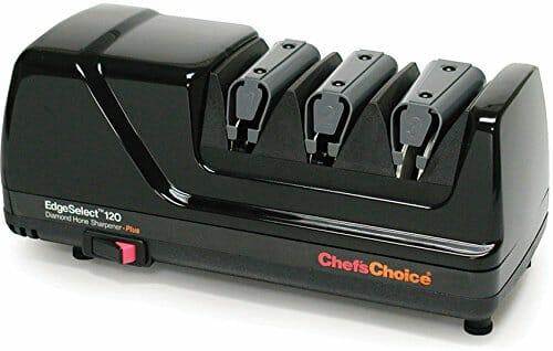 Diamentowa, elektryczna ostrzałka od Chef's Choice diamond hone najlepsza ostrzałka do noży