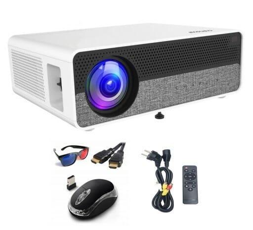 Projektor LED 5500lm Q9 DIAMOND Full HD WIFI ANDROID 8.0 3D 4K