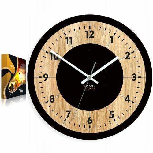 Zegar ścienny drewniany TOKIO