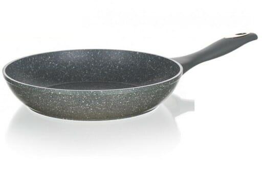 granitowa patelnia Banquet 28 cm z pokrywką