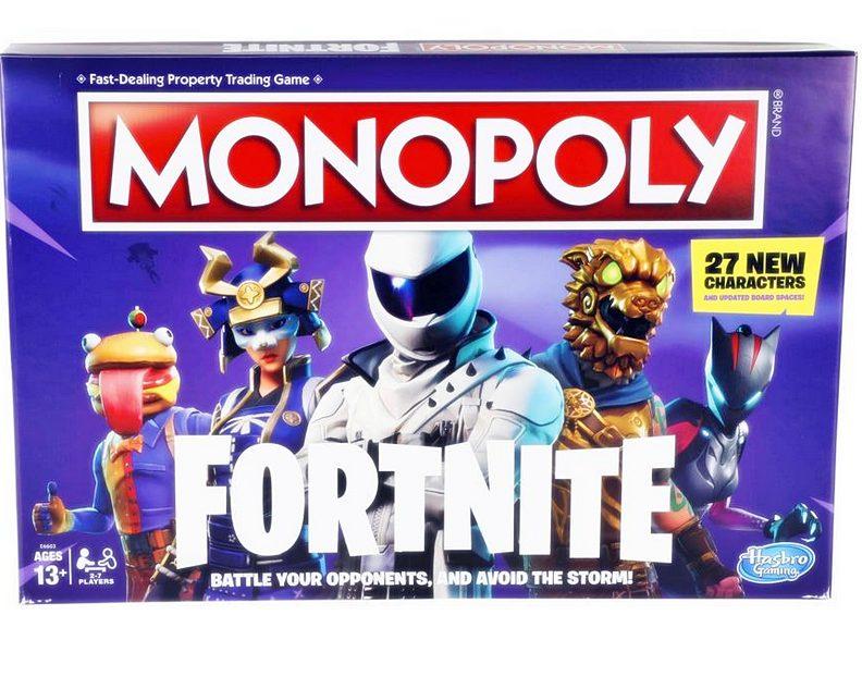monopoly fortnite ranking najlepszych gier planszowych