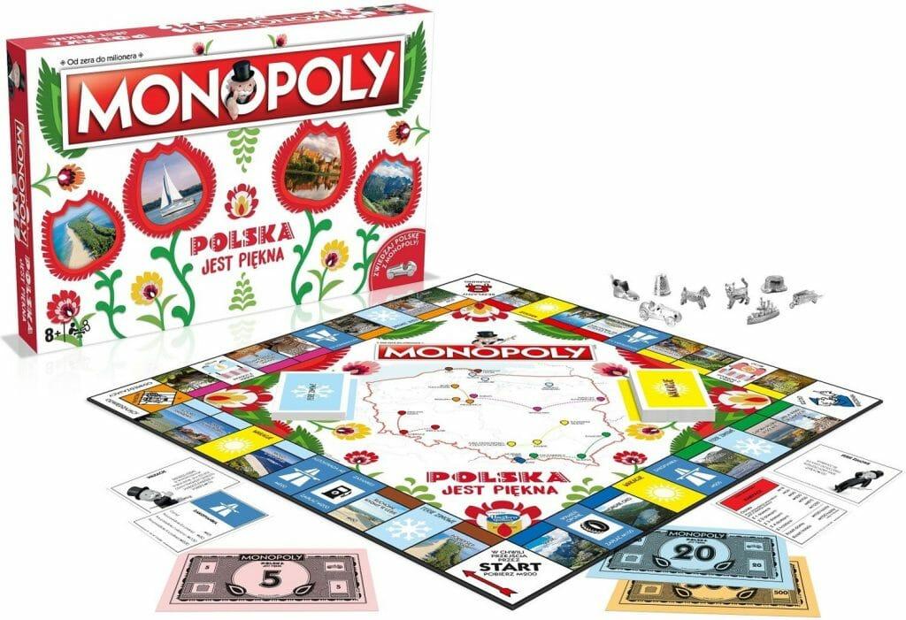 monopoly polska jest piękna ranking najlepszych gier planszowych
