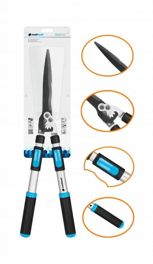 Ręczne nożyce ogrodowe Cellfast IDEAL 40-400 - teleskopowe nożyce ogrodowe