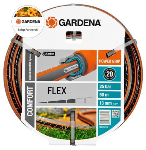Wąż ogrodowy comfort flex Gardena 18039, 50m 1/2''